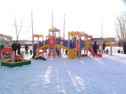 Монтаж детской площадки в Великом Новгороде