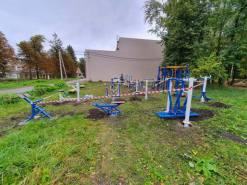 Монтаж детского оборудования в Каменске