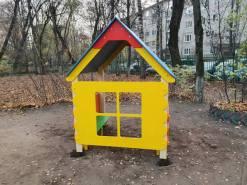 Монтаж детского оборудования ДС Радуга Химки