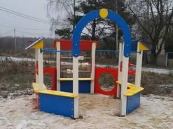Благоустройство детской игровой площадки в Калужской области