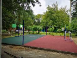 Обустройство спортивной площадки в Московской области