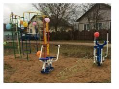 Монтаж  детской площадки в Калужской области