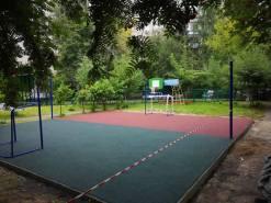 Монтаж спортивной площадки в Москве Люберцы (Дефектолог 50)